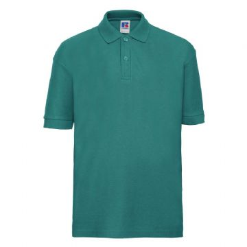 NEWTON PARK PRIMARY SCHOOL WINTER EMERALD POLO SHIRT WITH LOGO